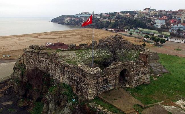 Riva Kalesi Restorasyonu Başlıyor