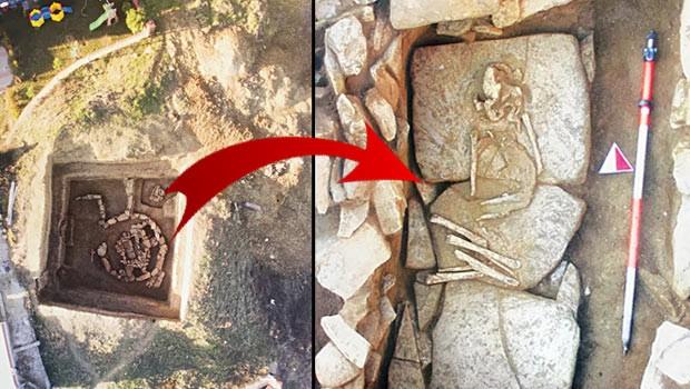 Yılın en büyük arkeolojik keşfi: Silivri'de 5000 yıllık kurgan bulundu