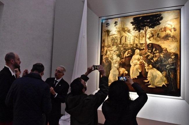 Leonardo da Vinci'nin 6 Yıl Süren Tablo Restorasyonu Tamamlandı