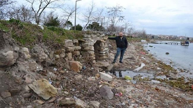Dalgalar Antik Limanı Ortaya Çıkardı