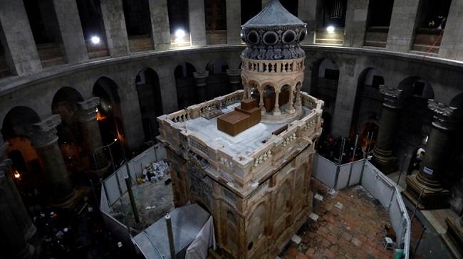 Hz. İsa'nın Mezar Restorasyonu 4 Milyon Dolara Mal Oldu