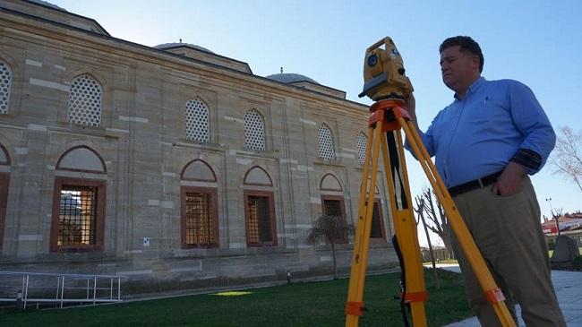 Selimiye Camii 3D tarama yöntemi ile 'dijital ortama' aktarılıyor