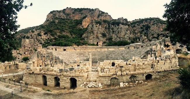 11 Bin Kişilik Myra Antik Tiyatrosu Restorasyona Hazır