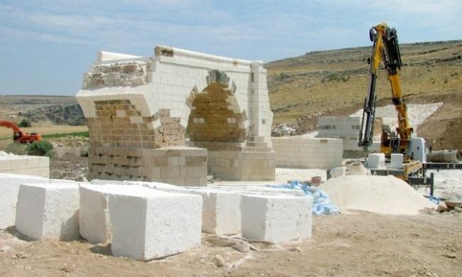 Septimius Severus Köprüsündeki Restorasyon Tamamlanıyor